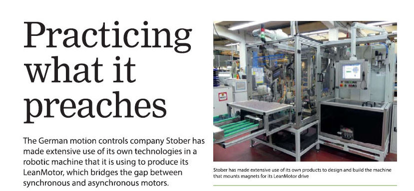AdPlace PR story in Drives and Controls July/Aug 2018